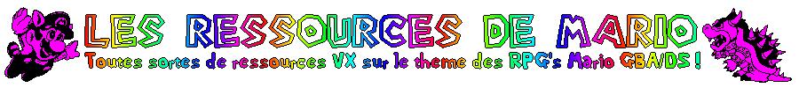 Les ressources de Mario Titre12