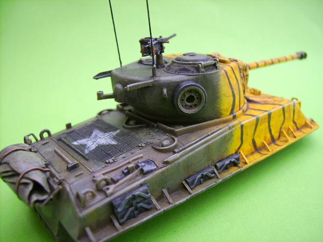 M4A3E8 sherman corée 1/72° E93410