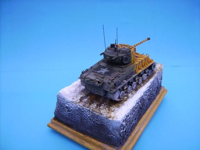 M4A3E8 sherman corée 1/72° E94210