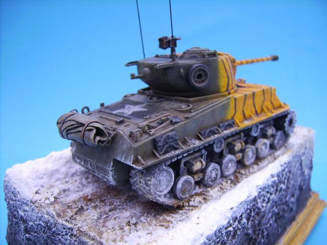 M4A3E8 sherman corée 1/72° E95410