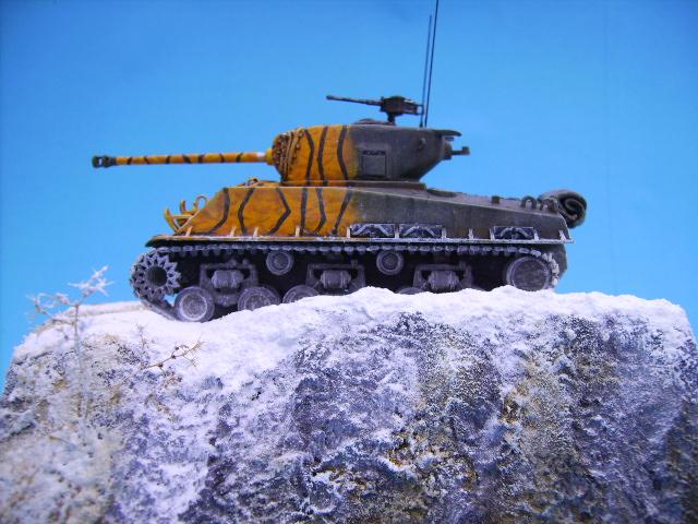 M4A3E8 sherman corée 1/72° E95610