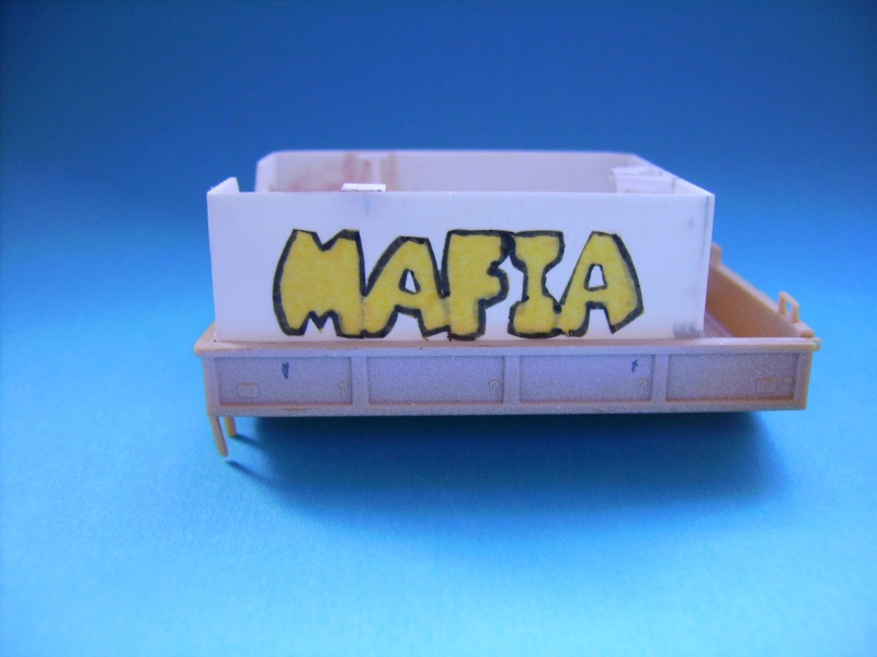 THE MAFIA gun truck nam conversion ACADEMY 1/72° Mafia810