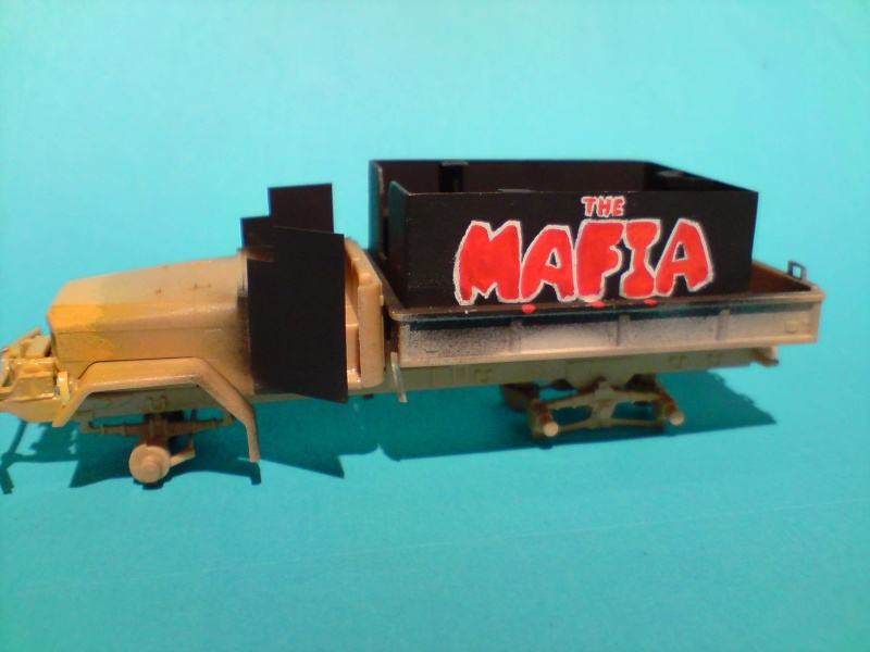 THE MAFIA gun truck nam conversion ACADEMY 1/72° Mafia910