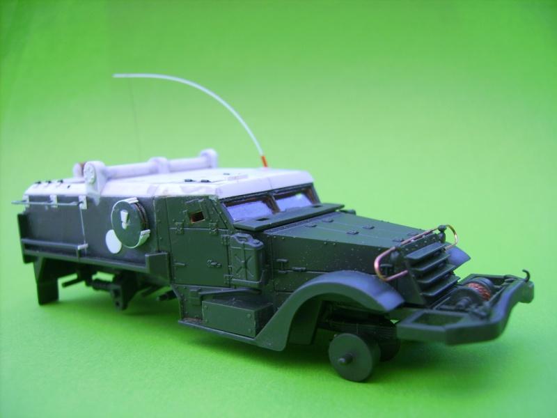 half track idf avec missiles ss11 1/72° Ss1510