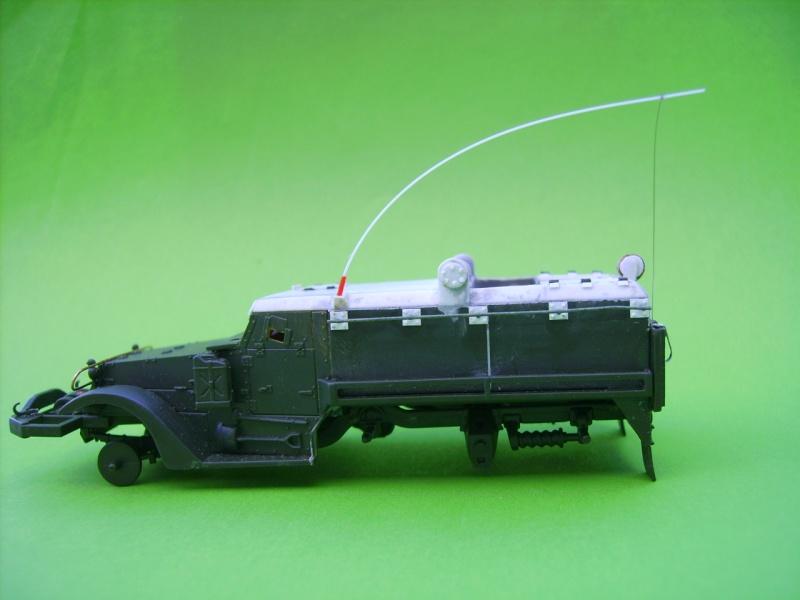 half track idf avec missiles ss11 1/72° Ss1610