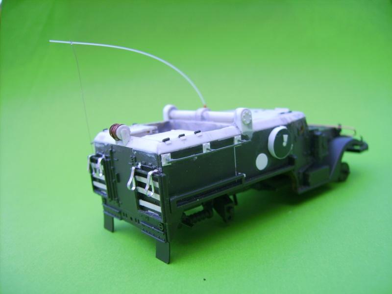 half track idf avec missiles ss11 1/72° Ss1710