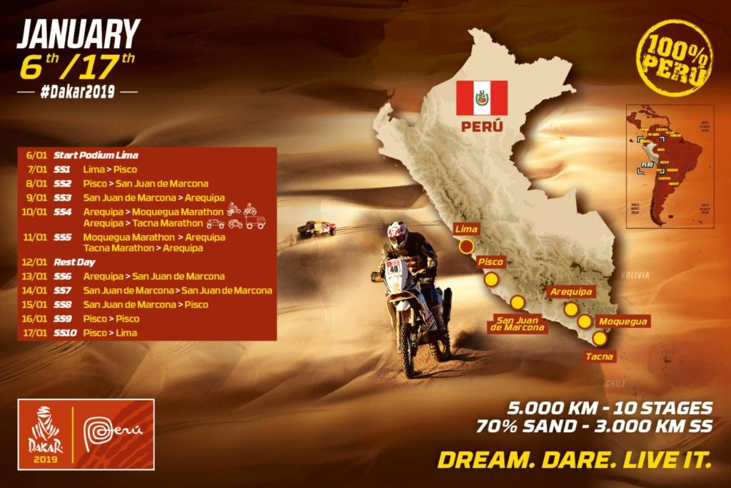 Dakar 2019 Carte10