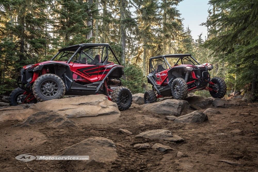 Nouveautés SSV 2019: Honda Talon 1000, Textron XX, Can Am Maverick Sport ... Honda-11