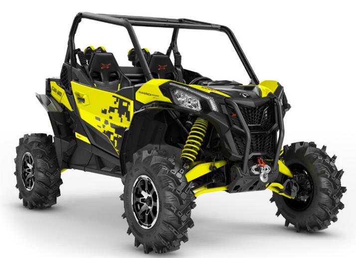 Nouveautés SSV 2019: Honda Talon 1000, Textron XX, Can Am Maverick Sport ... Xmr-110