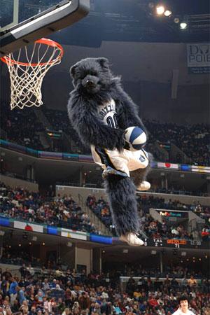 Mascotas de equipos NBA Grizz-11