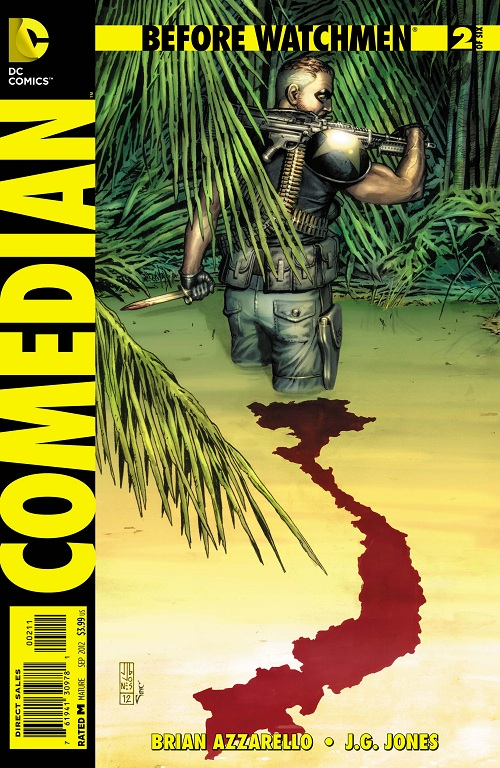 Before Watchmen : Comedian Comedi10