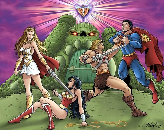 He-Man and the masters of the Universe.  Killer11