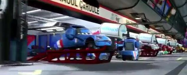 Pixar and The cars Bruno10