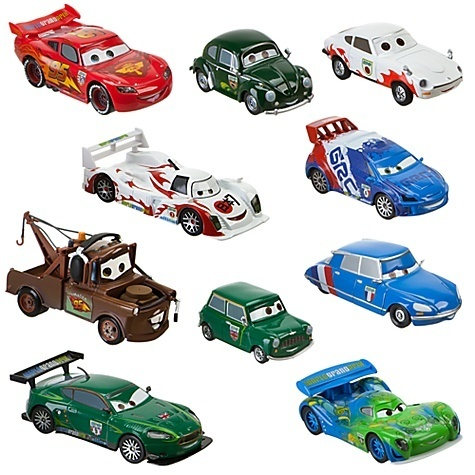 Pixar and The cars Detail10