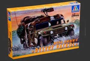 humvee desert patrol Ital-010