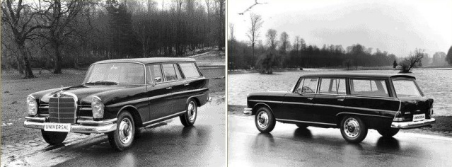 Mercedes Universal 810