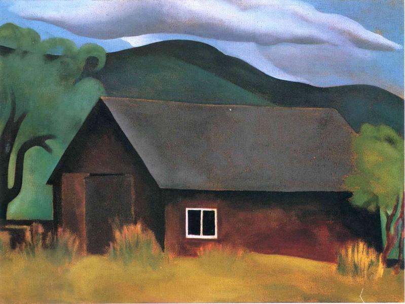 Georgia O'Keeffe [peintre] - Page 2 A153