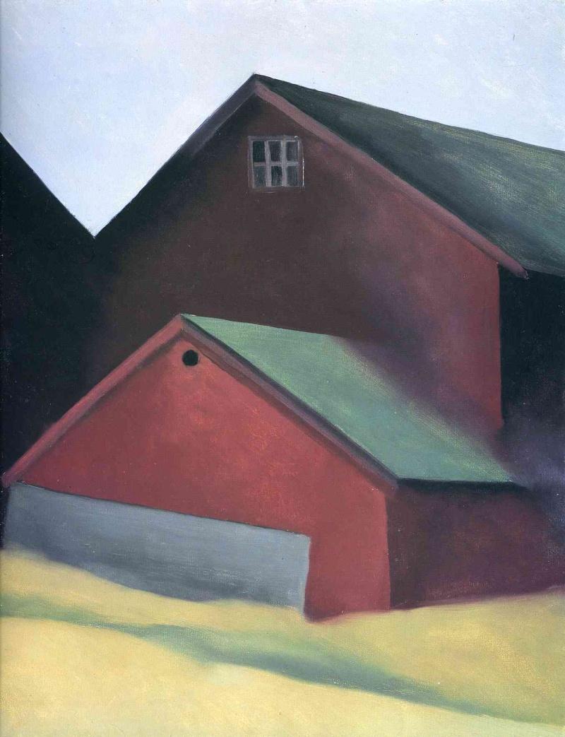 Georgia O'Keeffe [peintre] - Page 2 A155