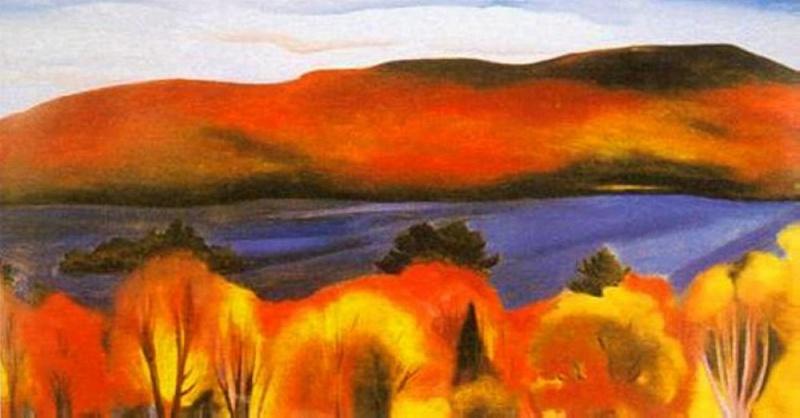 Georgia O'Keeffe [peintre] - Page 2 A156