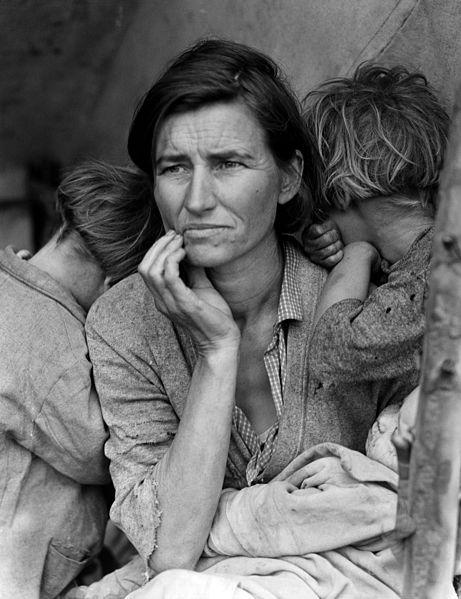 lange - Dorothea Lange [photographe] A393