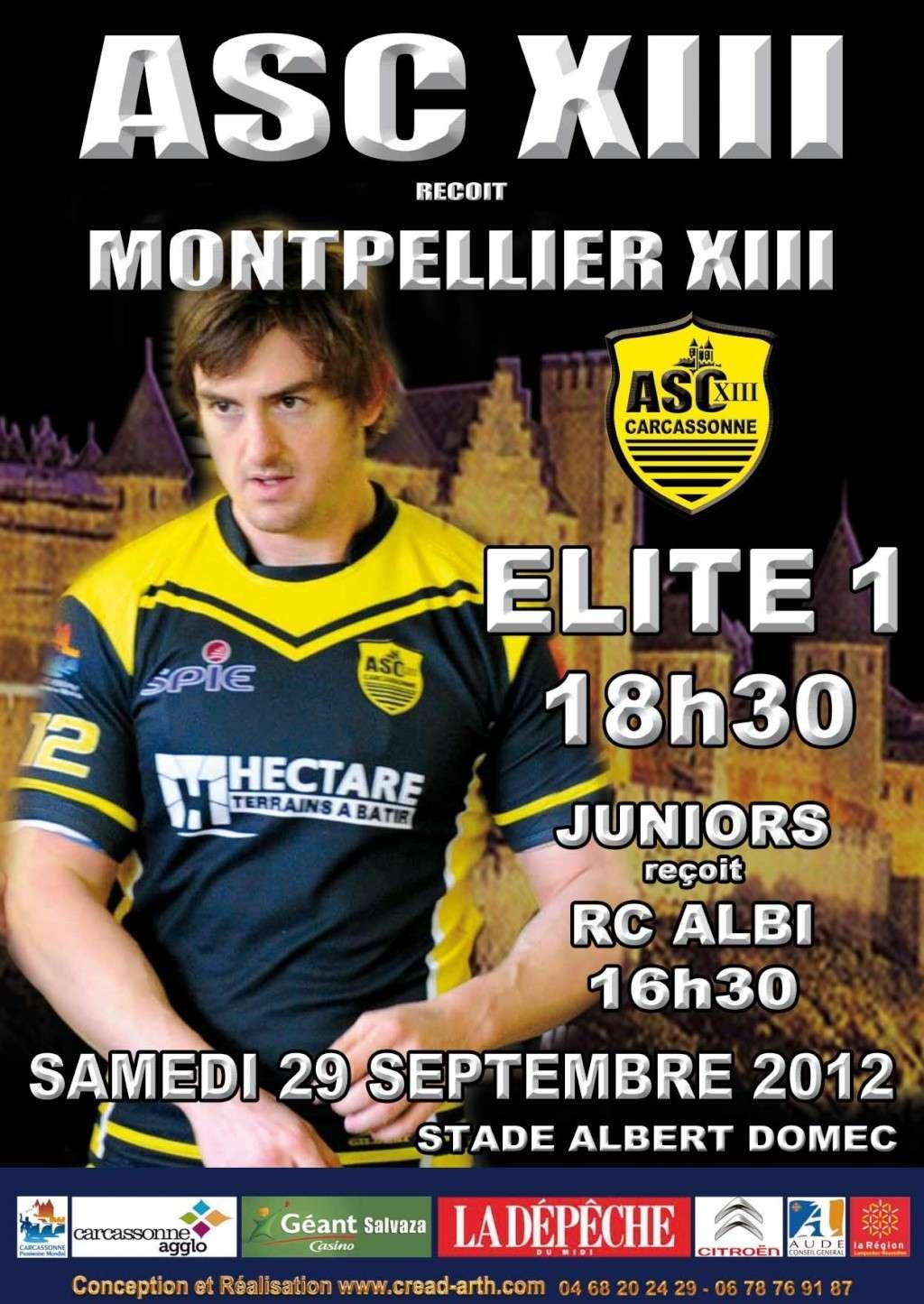 Affiche ASC / Montpellier Affich11