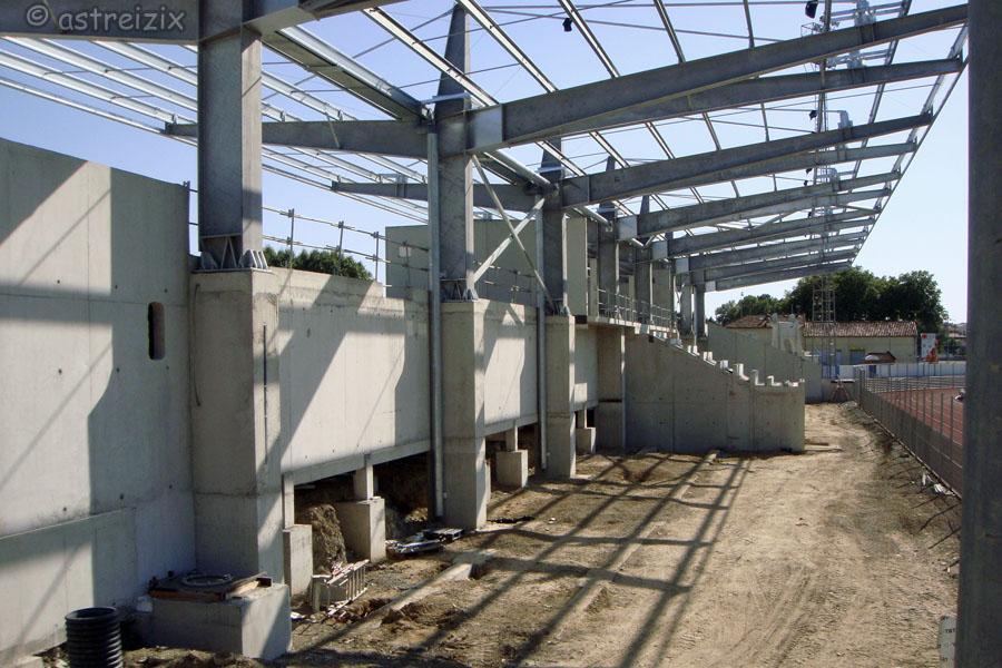 Construction nouvelle tribune Domec_17