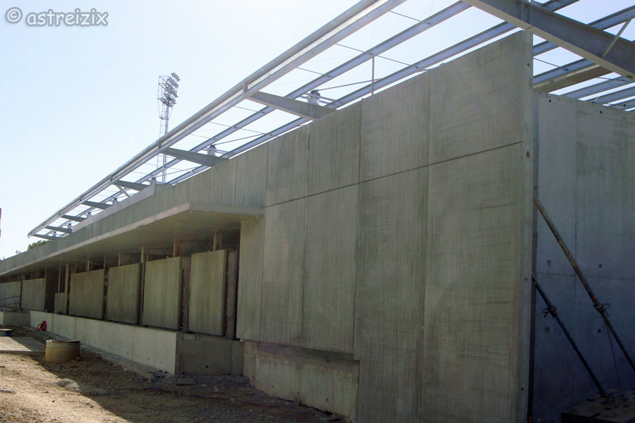 Construction nouvelle tribune Domec_23