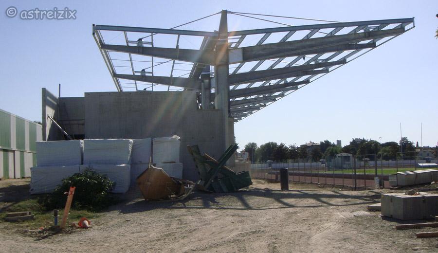 Construction nouvelle tribune Domec_25