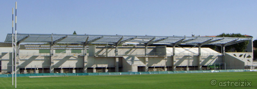 Construction nouvelle tribune Domec_30