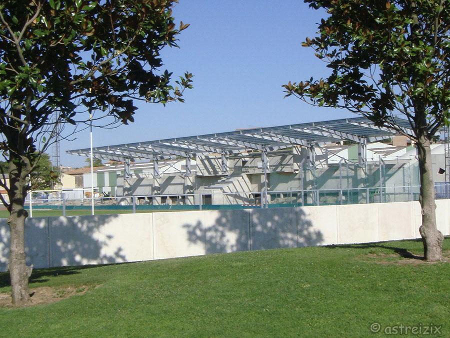 Construction nouvelle tribune Domec_38
