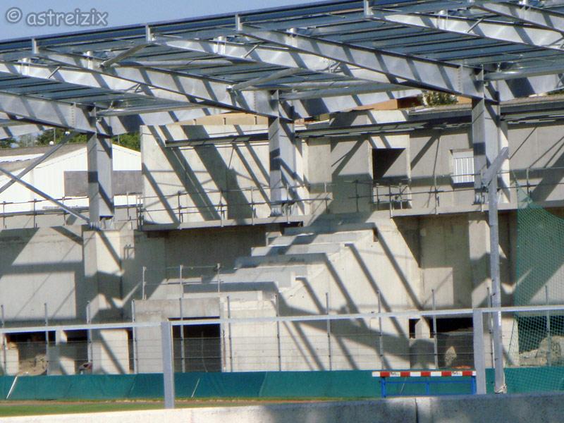 Construction nouvelle tribune Domec_39