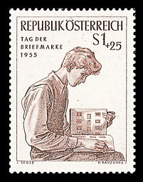 Tag der Briefmarke 195510