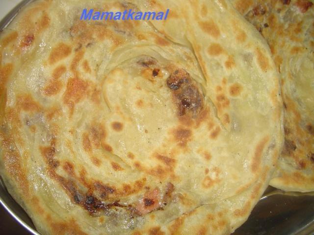 Melloui ou Malloui marocain aux oignons / Crêpe feuilletée marocaine/Mellouis marocain étape par étape en photos Mellou11