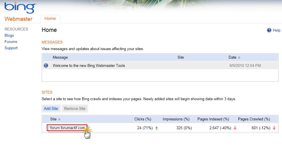 Optimiser le référencement de votre forum via Bing Webmaster 09-08-15