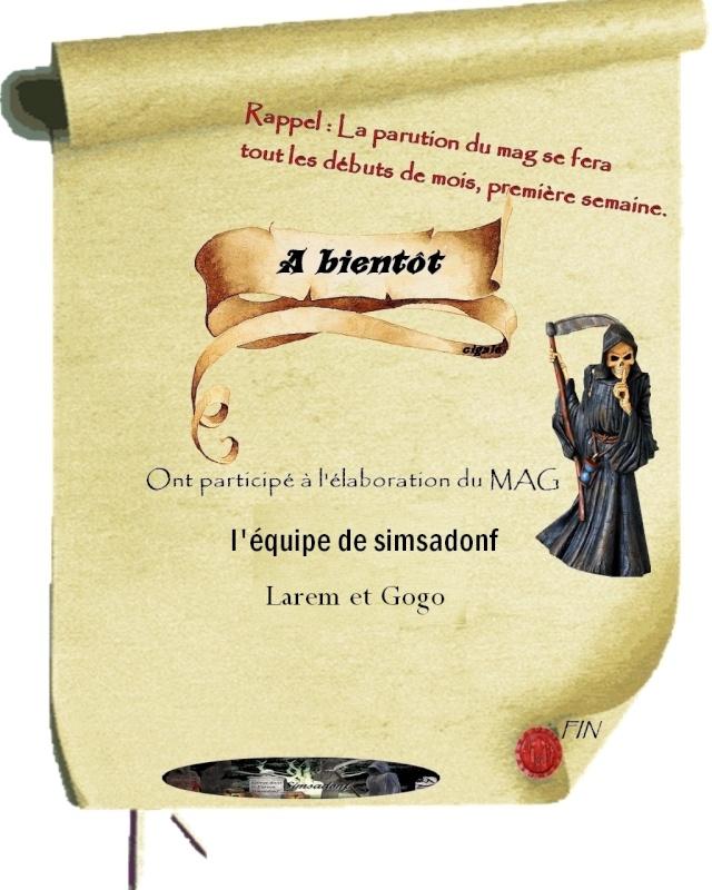 LE MAG DE SIMSADONF édition d'octobre 1114