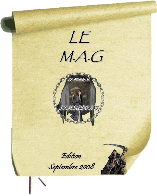 LE MAG DE SIMSADONF édition de Septembre 2012