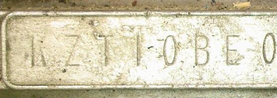 un numero moteur Nummot10