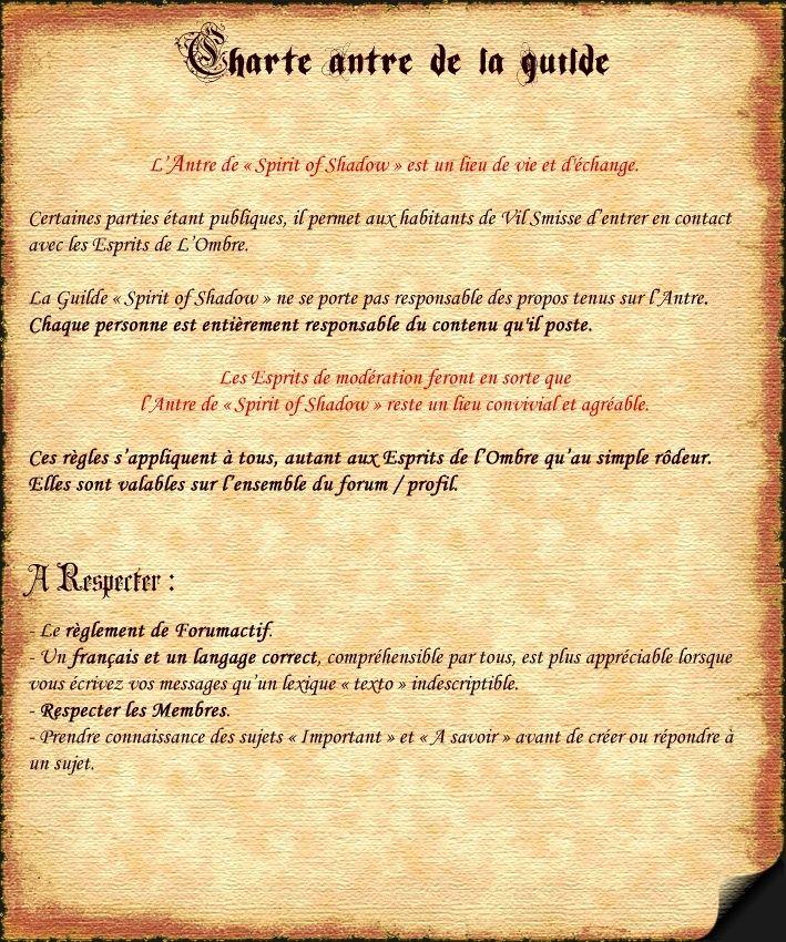 Acte II - CHARTE de l'ANTRE Charte19