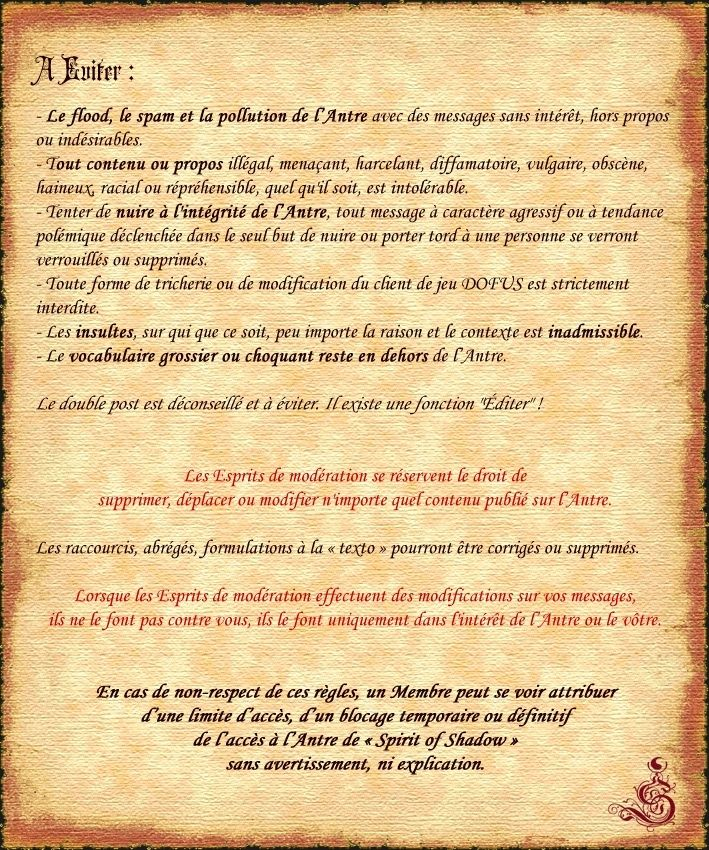 Acte II - CHARTE de l'ANTRE Charte20