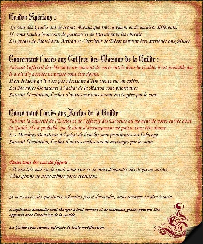 Acte III - EVOLUTION et GRADES Charte22