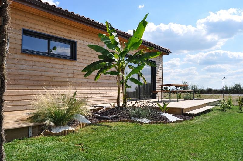 fabrication d'une terrasse en bois sur piloties+ déco Aout_210