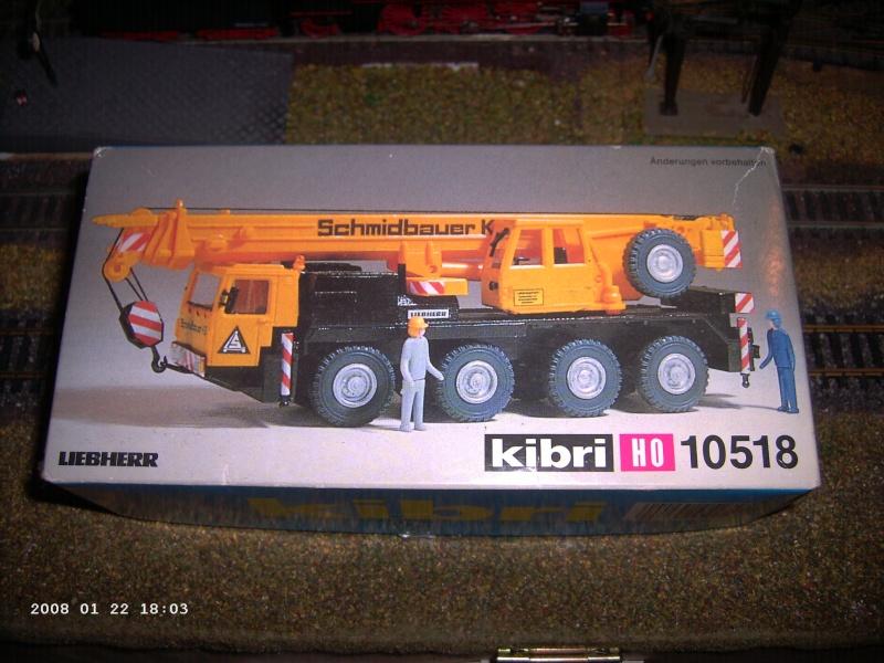 Kibri H0 - Bausatz Autokran 10118 Pict1117