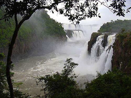Brésil-Argentine : Les chutes d'Iguazu Iguazu12