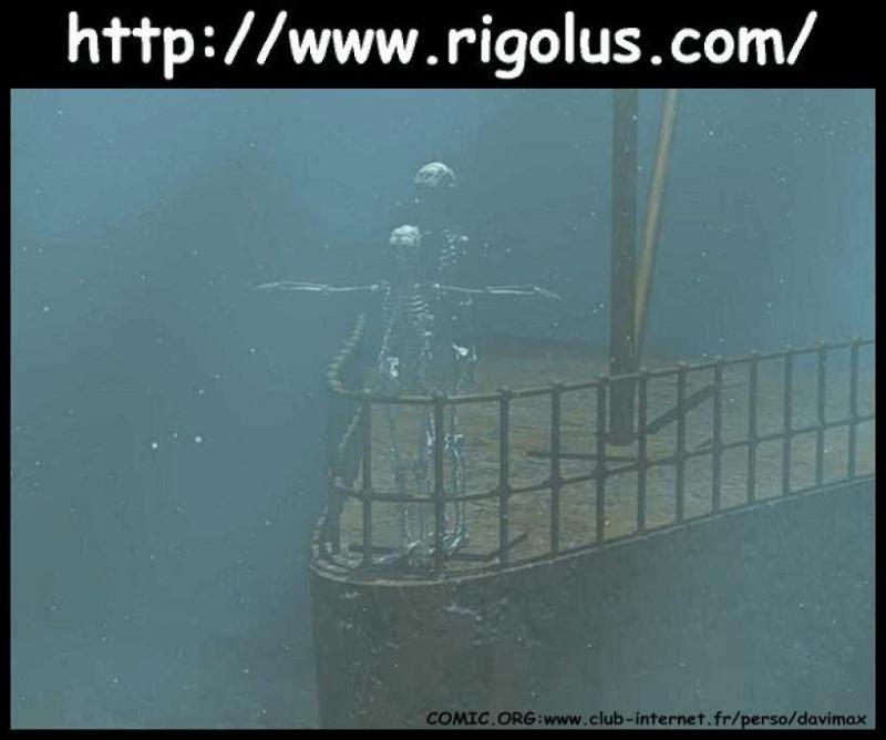Une nouvelle est tombée le Titanic a coulé Titani10