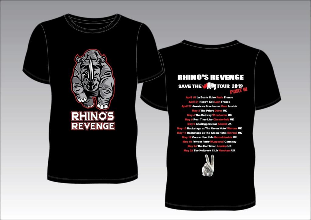 Rhino's Revenge TOUR III Tshirt10