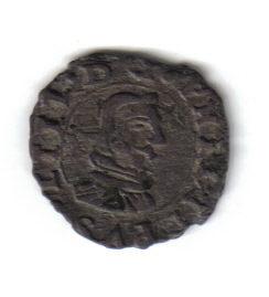 4 Maravedis de Felipe IV (Coruña, 1661 d.C) 4mdis116