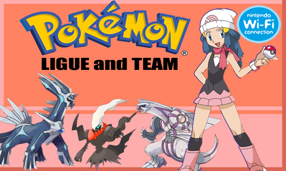 POKéMON LEAGUE & TEAM
