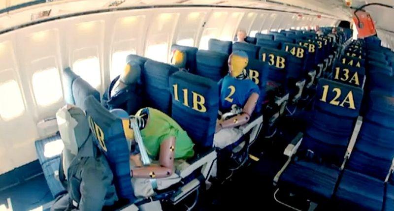 L'extrême en vidéo : comment survivre à un crash en avion ? Par Delphine Bossy 9b90ab10