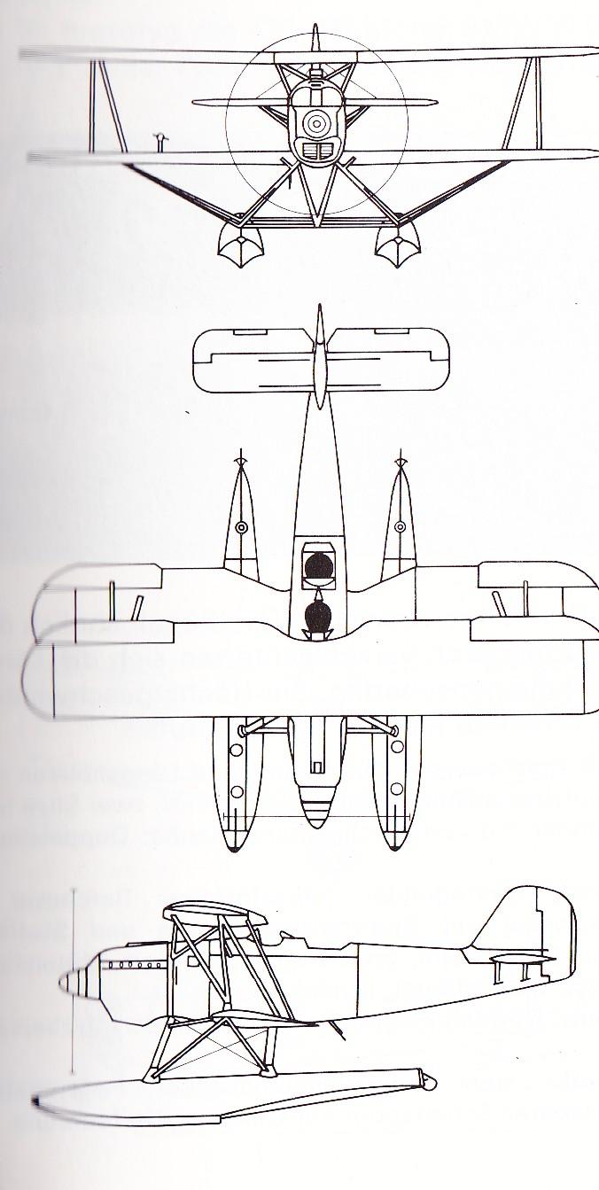 Einmotorige Flugzeuge Skizze10