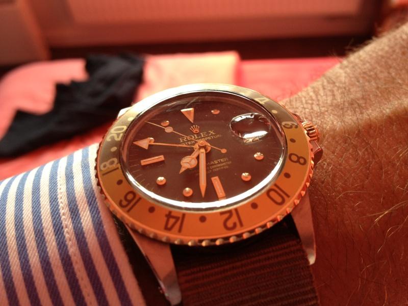"""Vends Rolex GMT 1675/3 """"chocolate"""" de 1970 Img_5310"""